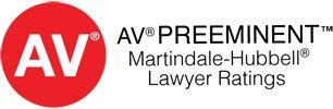 AV Preeminent Martindale-Hubbell Lawyer Ratings