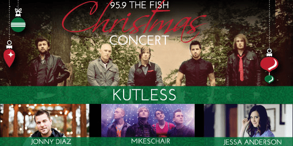 The Fish Radio Station Christmas Concert Announcement