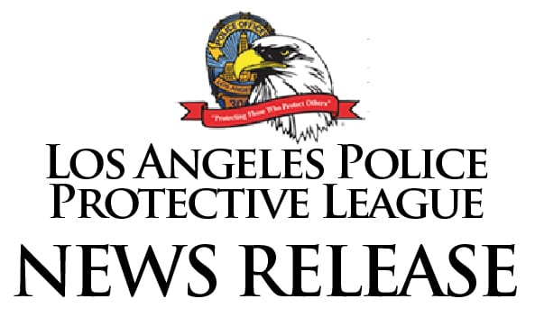 Los Angeles Police Protective League News Release Letterhead Logo
