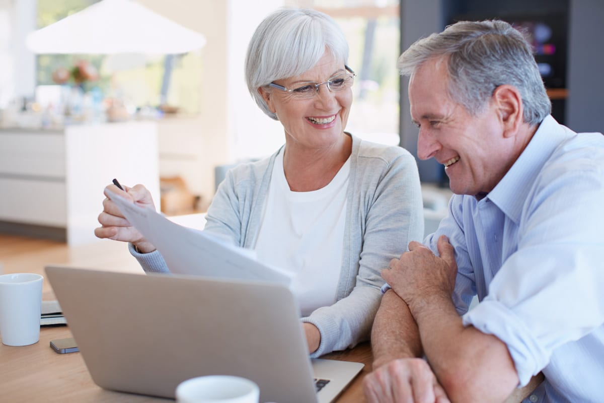 Older Couple - Fair Debt Collection Practices: LA Bankruptcy Attorney