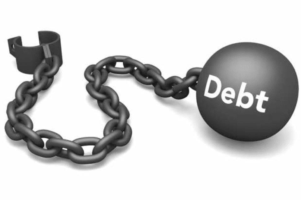 debt-ball-chain