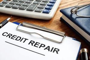 credit repair clipboard