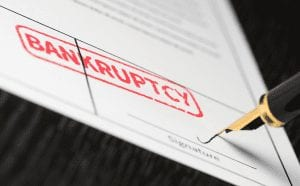 bankruptcy sign form