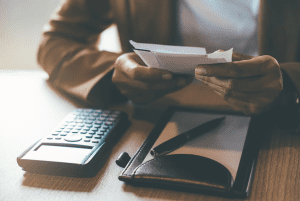 calculating finances and expenses