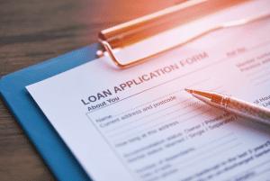 Loan-Application-on-clipbaord