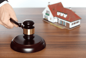 gavel-and-toy-house