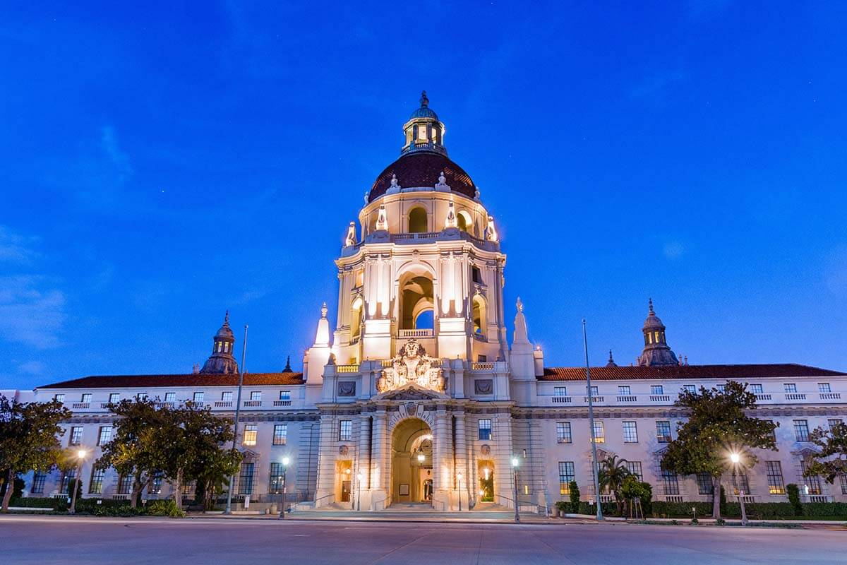 Historic City Hall of Pasadena