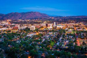 twilight view of Riverside